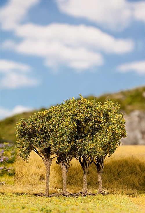 Faller 181204 - 4 PREMIUM Late summer shrubs