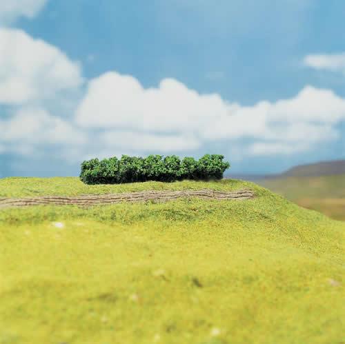 Faller 181356 - 4 PREMIUM Hedges, light green