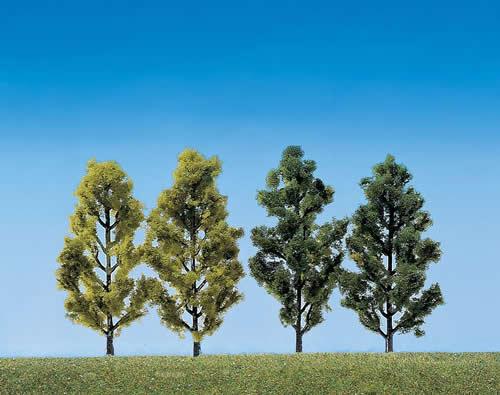 Faller 181405 - 2 Birches + 2 Poplars