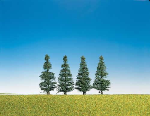 Faller 181431 - 4 Fir trees