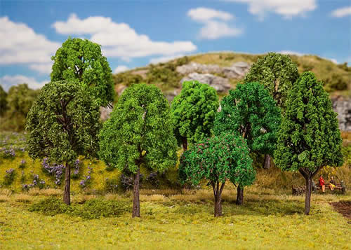 Faller 181477 - 20 Mixed forest trees, assorted