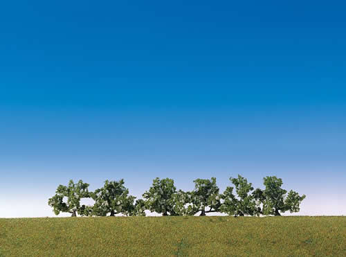 Faller 181478 - 6 Bushes, blooming white
