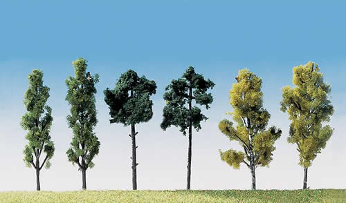 Faller 181488 - 6 Assorted trees