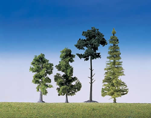 Faller 181495 - 15 Mixed forest trees, assorted