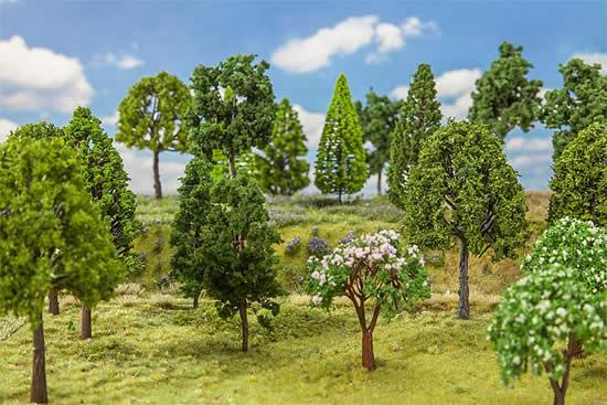 Faller 181525 - 30 Deciduous trees