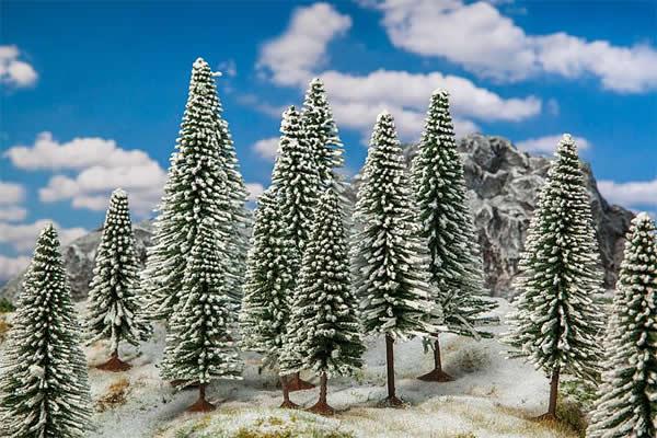 Faller 181580 - 18 Firs in winter