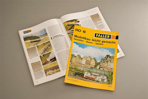 Faller 190841 - Model-making made easy* Designing • Building • Playing