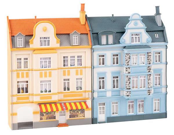 Faller 191757 - 2 Urban relief houses, 3 storeys