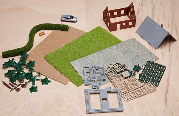 Faller 195999 - One-family dwelling house Creative Building Set II