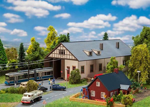 Faller 222101 - Naumburg Tram depot