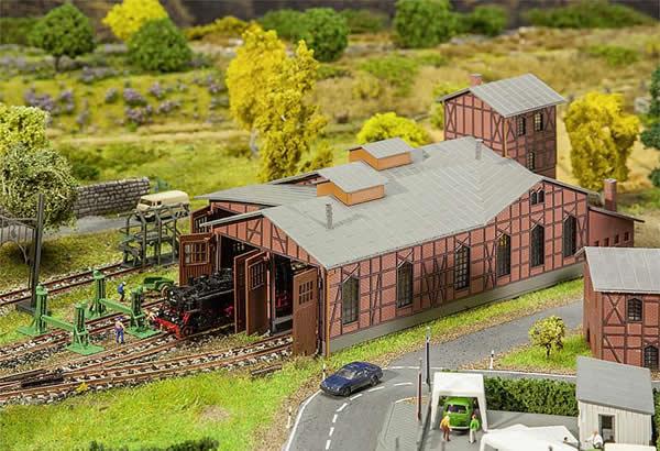 Faller 222113 - Depot set engine shed