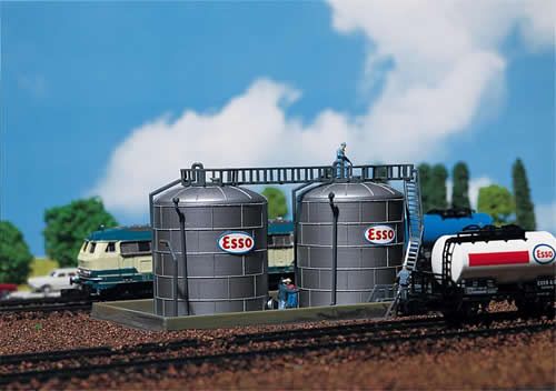 Faller 222131 - 2 Oil storage tanks