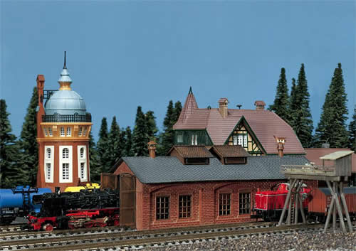 Faller 222141 - One stall engine shed