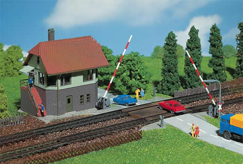 Faller 222171 - Level crossing with signal tower