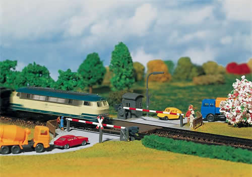 Faller 222173 - Guarded level crossing