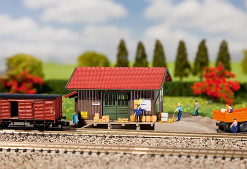 Faller 222193 - Freight shed