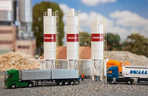 Faller 222207 - 3 Industrial silos