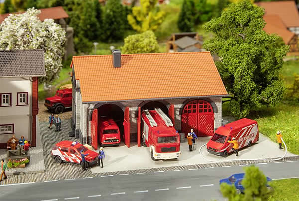 Faller 222209 - Fire brigade engine house