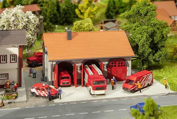 Faller 222209 - Fire brigade engine house