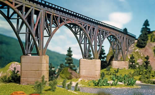Faller 222548 - Set of concrete bridge piers