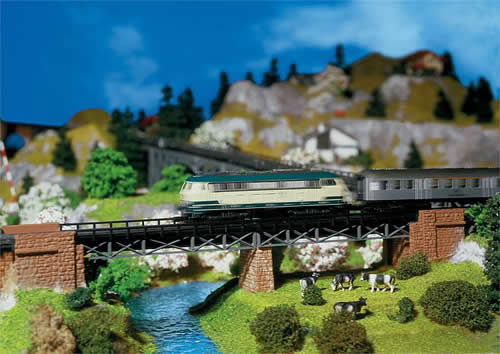 Faller 222550 - Bridge abutment set