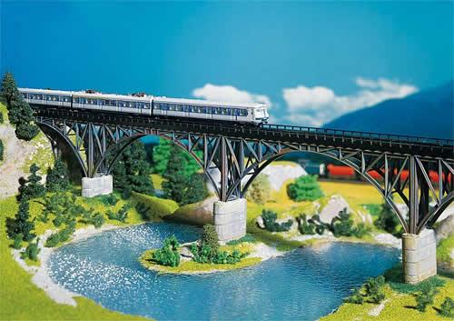 Faller 222581 - Steel arch bridge