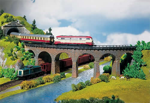 Faller 222586 - 2 Curved viaducts