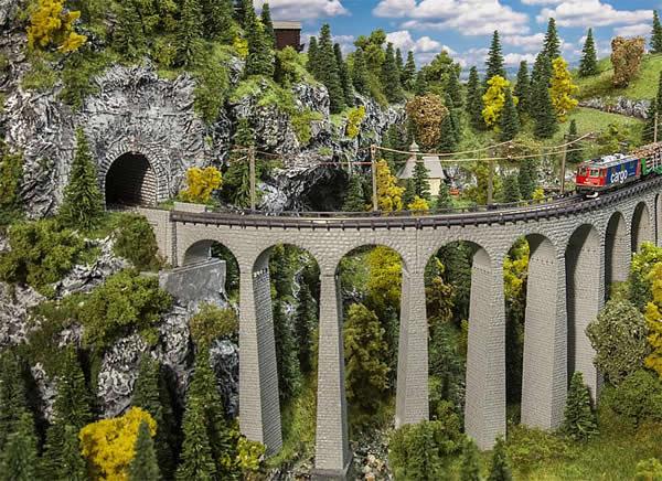 Faller 222596 - Landwasser Viaduct-set
