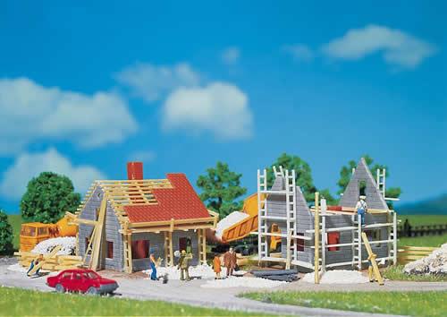 Faller 232223 - 2 Houses under construction