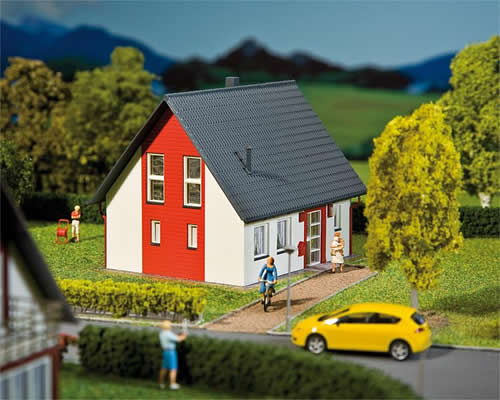 Faller 232320 - Detached house, red