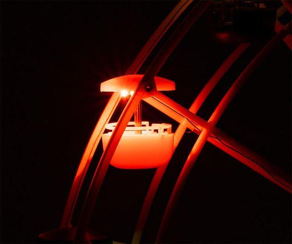 Faller 242317 - Ferris wheel LED lighting set