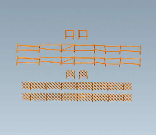 Faller 272407 - Pasture and hunting fence, 249 mm/272 mm