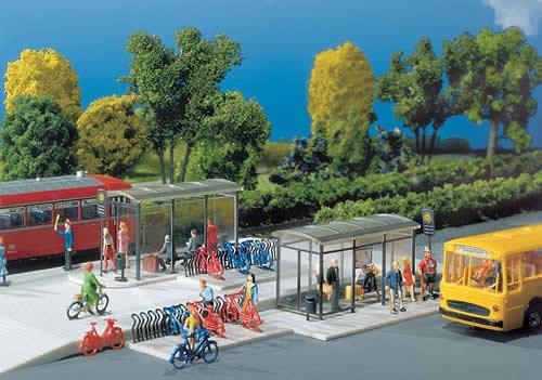 Faller 272543 - City Compact Stops