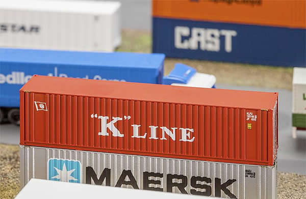 Faller 272820 - 40' Hi-Cube Container K-LINE