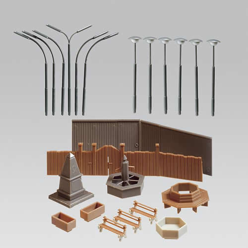 Faller 282791 - Park accessories