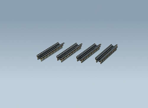 Faller 282901 - 4 Track beds