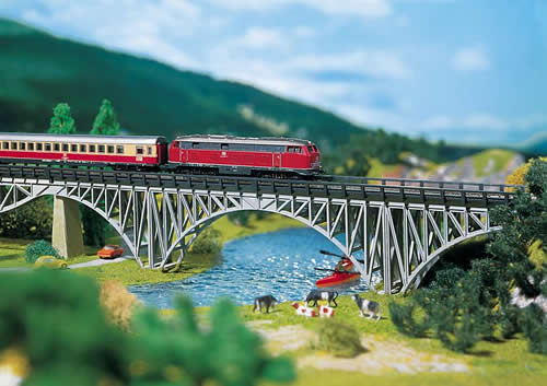 Faller 282915 - Steel girder bridge
