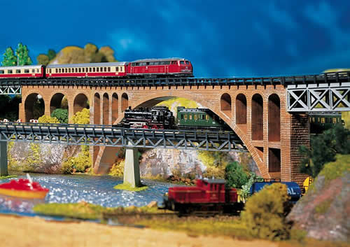 Faller 282924 - Stone arch bridge
