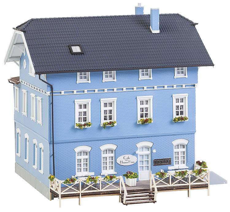 faller 130439 das blaue haus caf. Black Bedroom Furniture Sets. Home Design Ideas