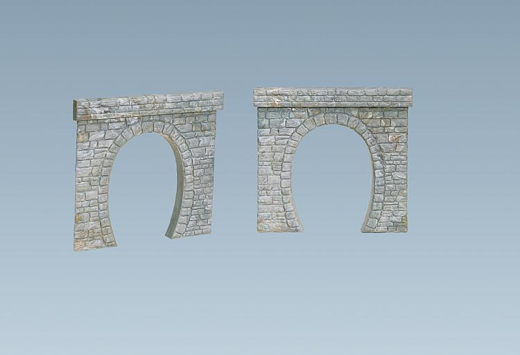 Faller 120563 2 tunnel portals for N scale tunnel portal dimensions