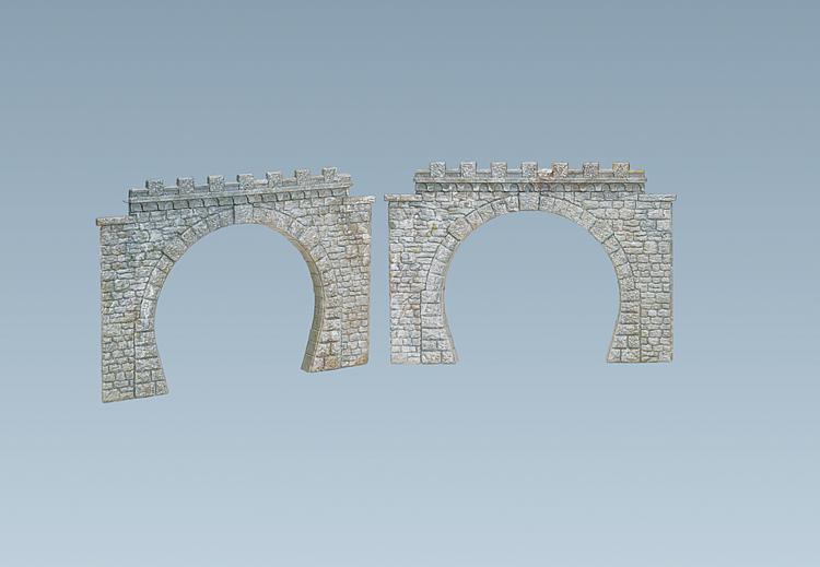 Faller 120565 2 tunnel portals for N scale tunnel portal dimensions