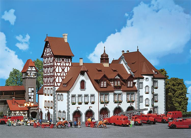 Faller 130337 Historical Fire Station 1 Nuremberg
