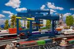 Container bridge-crane GVZ Hafen Nürnberg