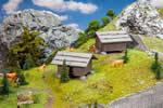 2 Hay barns