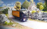Digital Car System, truck MB Atego Sixt