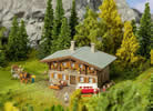 Mountain rescue chalet