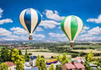 Promotional set 2 Hot-air balloons