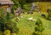 Cows Figurine set with mini sound effect