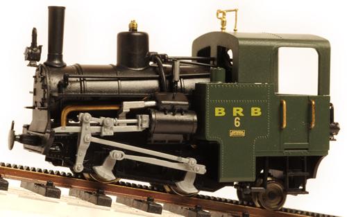 Model Train Racks : Ferro train  austrian brb rack railway loco nbr