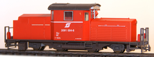 Ferro Train 201-504 - Austrian ÖBB 2091 004 8 orange-red, Waidhofen/Ybbs